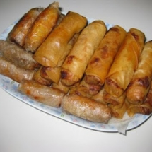 Egg rolls: Shrimp Pork Egg Roll (Cha Gio Tom Thit)