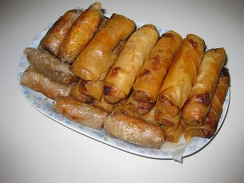 Egg rolls: Shrimp Pork Egg Roll (Cha Gio Tom Thit)