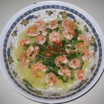 Vietnamese Shrimp Papaya Salad